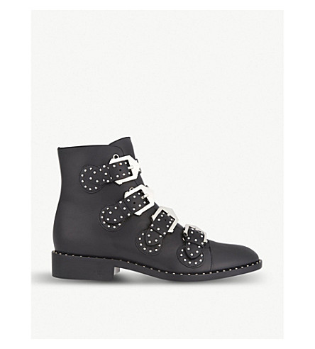 GIVENCHY Prue leather ankle boots (Black