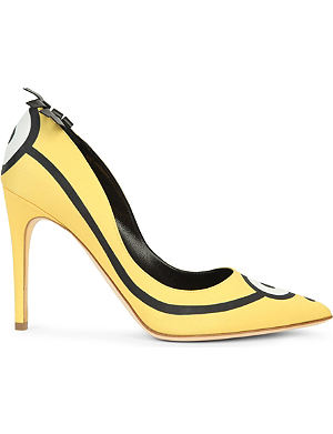 RUPERT SANDERSON Minions limited edition court shoes