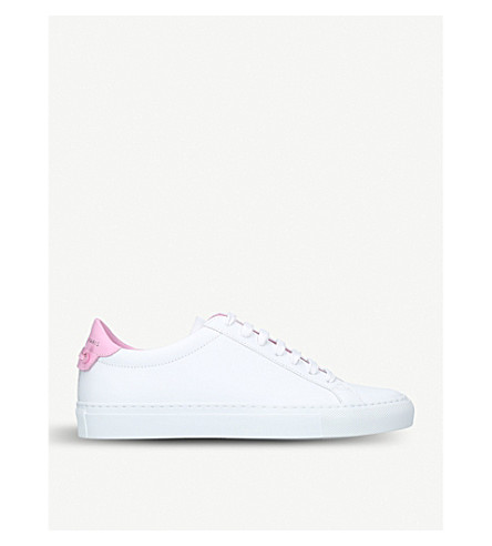 GIVENCHY Knot leather trainers (White/comb