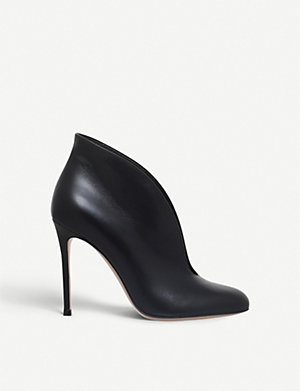 d7e0a09b770 GIANVITO ROSSI - Foley platform suede ankle boots