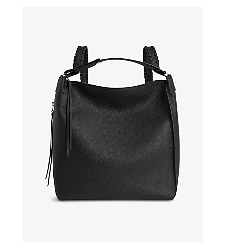 ALLSAINTS Kita leather backpack (Black