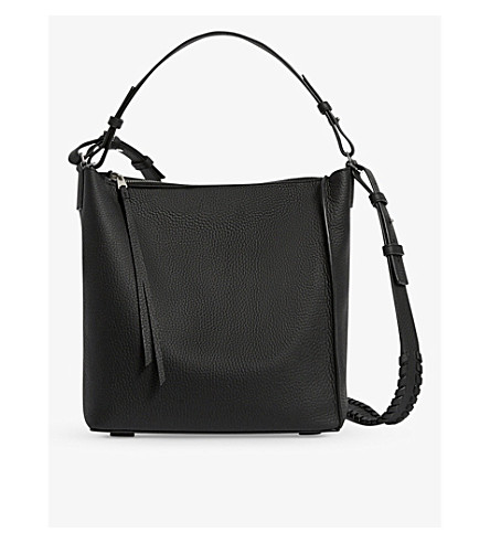 ALLSAINTS Kita leather cross-body bag (Black