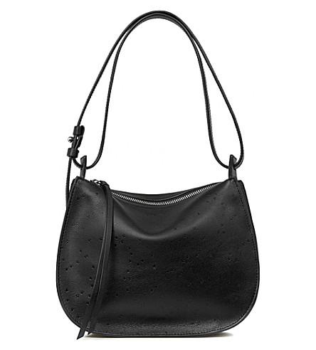 ALLSAINTS Echo Mini Hobo leather bag (Black