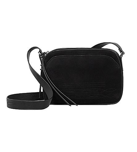 ALLSAINTS Cooper leather camera bag (Black