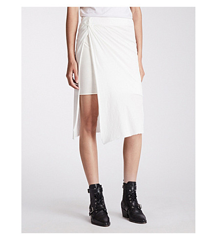 Sur cotton skirt