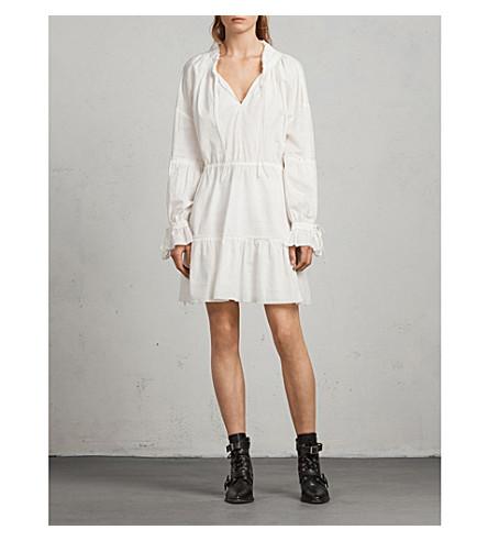 ALLSAINTS Adara cotton dress (Chalk