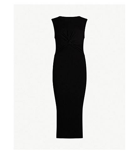 ALLSAINTS Tyne ribbed-knitted dress (Black