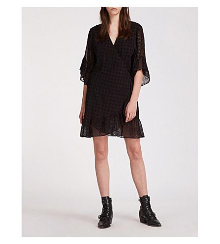 ALLSAINTS 马洛小姐 broderie 连衣裙 (黑色