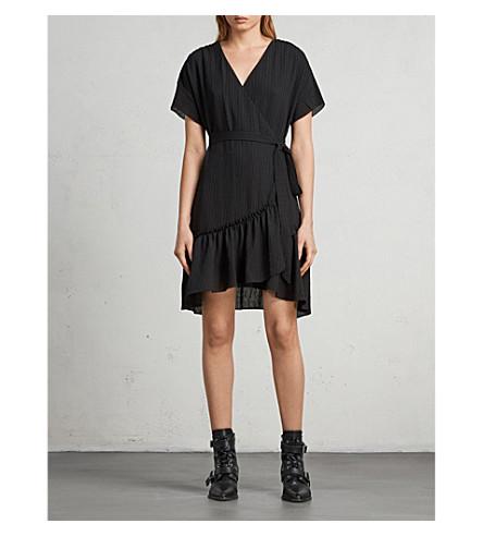 ALLSAINTS Rene crepe dress (Black