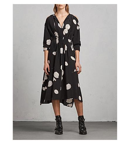 ALLSAINTS Lavete Rodin silk dress (Black