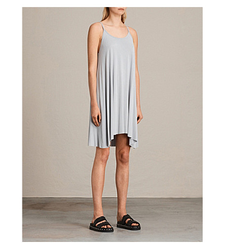 ALLSAINTS Conley jersey dress (Cloud