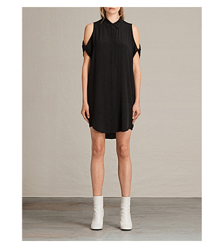 ALLSAINTS Irie shirt dress (Black