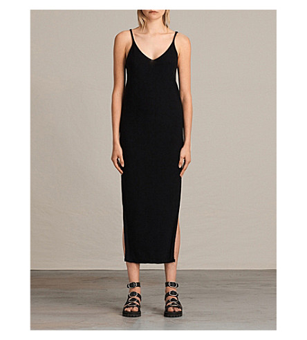 ALLSAINTS Blyth knitted dress (Black
