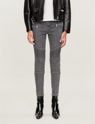 Grace cropped skinny high-rise jeans