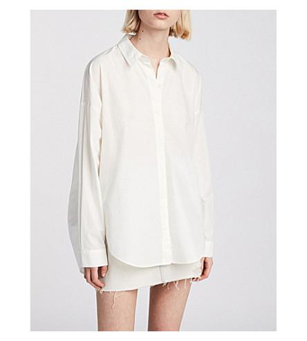 ALLSAINTS Sada cotton shirt (Chalk+white