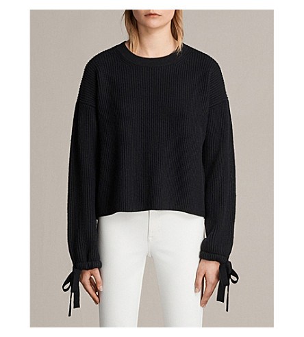 ALLSAINTS Sura wool-blend jumper (Black