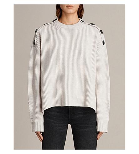 AllSaints Knit Oversize Top Discount 2018 HlW4CFISS