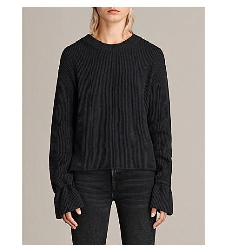ALLSAINTS Eloise knitted jumper (Cinder+marl