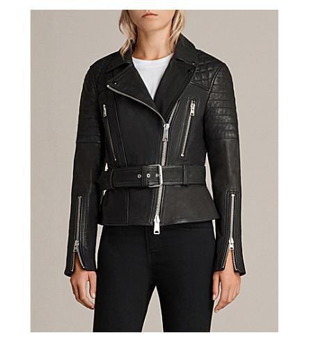 ALLSAINTS Bryden leather jacket (Black