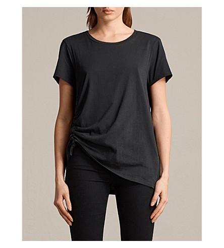 ALLSAINTS Arie cotton-jersey T-shirt (Black