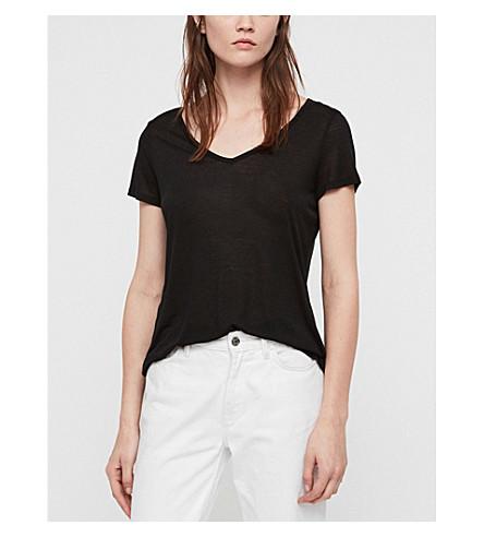 ALLSAINTS Malin jersey T-shirt (Black
