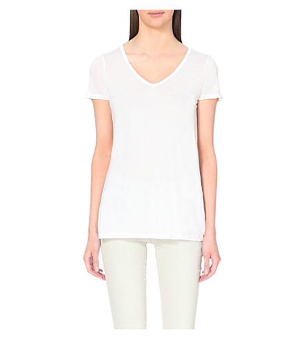ALLSAINTS Malin jersey T-shirt (Optic