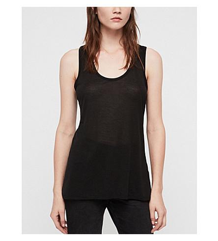 ALLSAINTS Malin vest top (Black