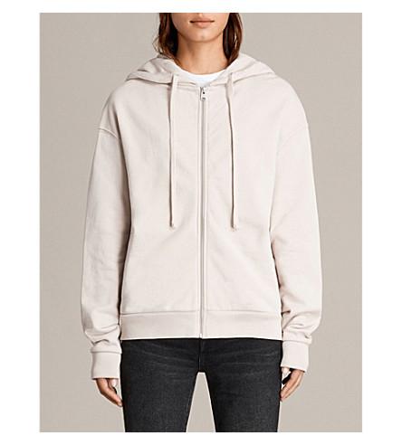 ALLSAINTS Jet cotton-jersey hoody (Almond