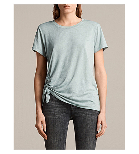 ALLSAINTS Mint green arie devo tee xs (Mint+green