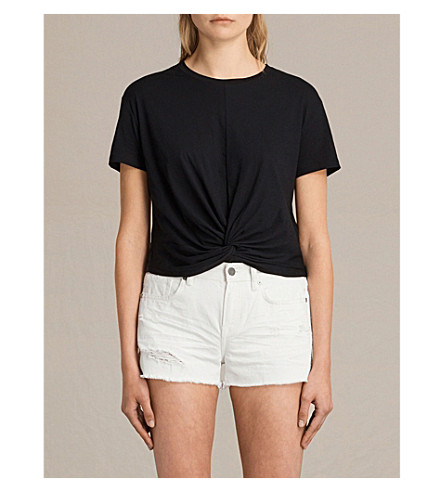 ALLSAINTS Carme cotton T-shirt (Black