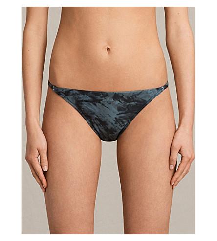 ALLSAINTS Agnes Tyde Bikini Bottoms (Black