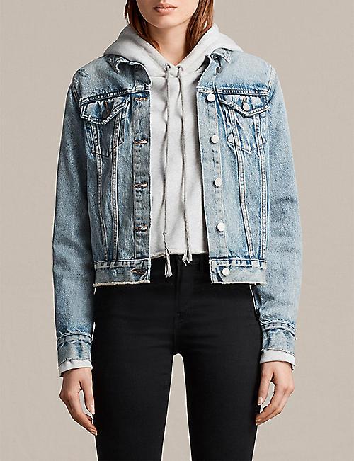 ALLSAINTS Hay denim jacket