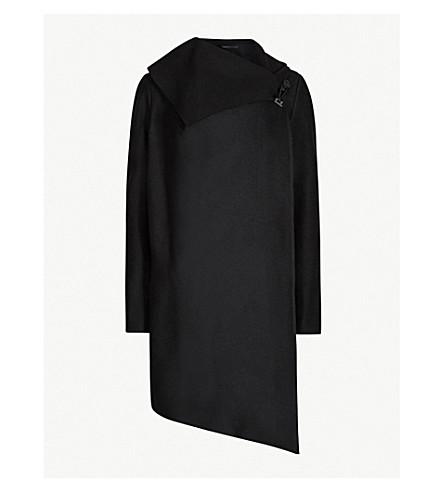 ALLSAINTS City Monument wool-blend coat (Black