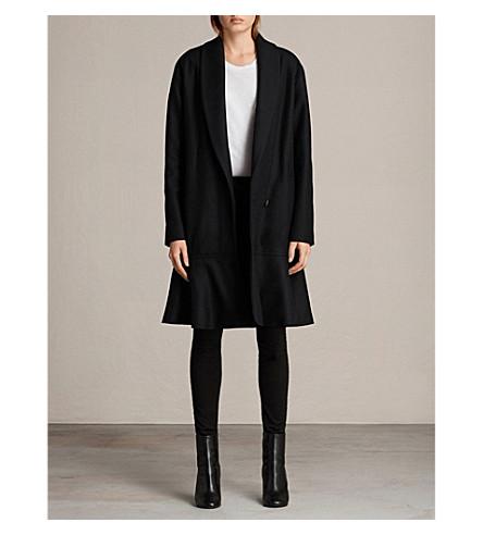 ALLSAINTS Grace wool-blend coat (Black