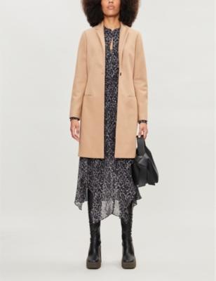 Leni wool-blend coat