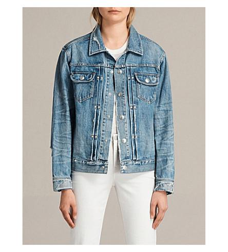 ALLSAINTS Ina denim jacket (Indigo+blue