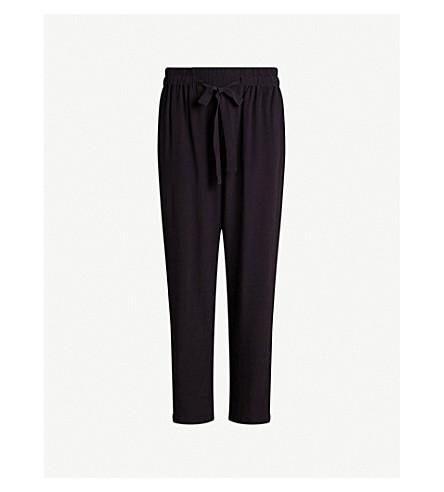 ALLSAINTS Tailia drawstring crepe trousers (Black