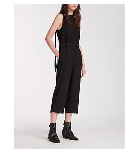 ALLSAINTS Neela 绉裤 (黑色