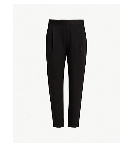 ALLSAINTS Aleida crepe trousers (Black