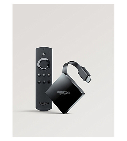AMAZON Fire TV 4K with Alexa voice remote (Black