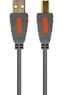 PEERLESS Alpha USB 2.0 High Speed device cable - A plug to B plug