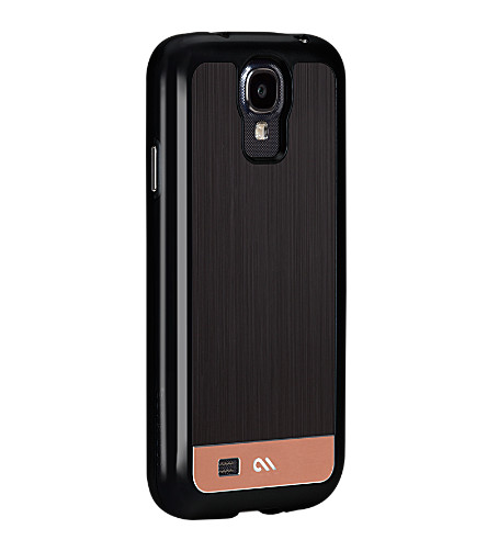 CASE-MATE Brushed aluminium Samsung Galaxy S4 phone case