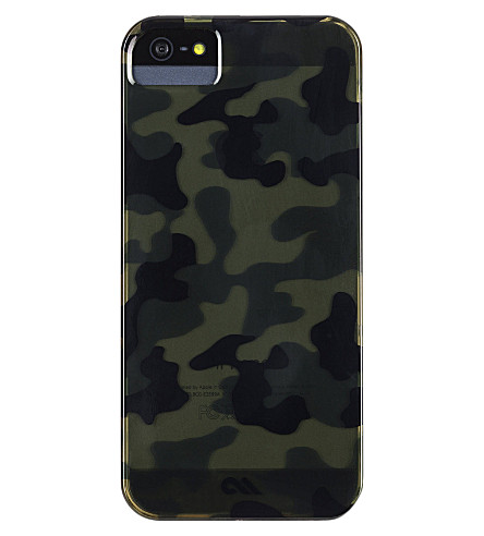 CASE-MATE Barely There Urban Camo iPhone 5 case