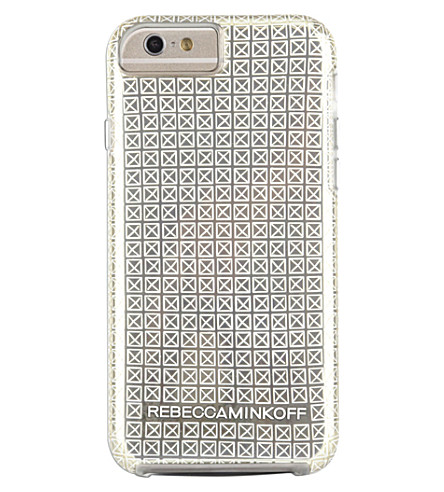 CASEMATE Rebecca Minkoff stud-print iPhone 6/6s case