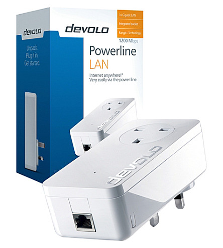 DEVOLO Powerline 1200+ network extender
