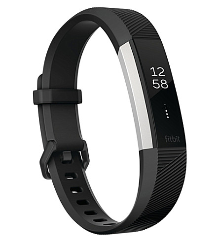 FITBIT Fitbit alta hr large fitness band (Black
