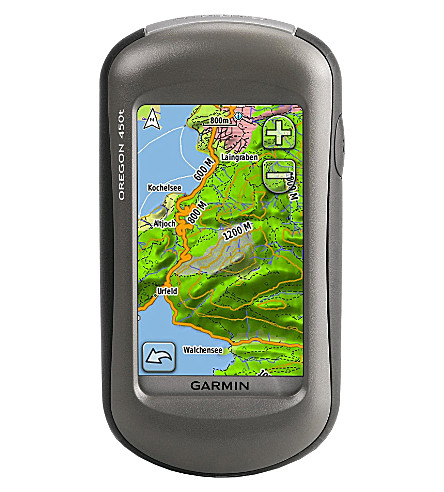 GARMIN Oregon 450t touchscreen navigation