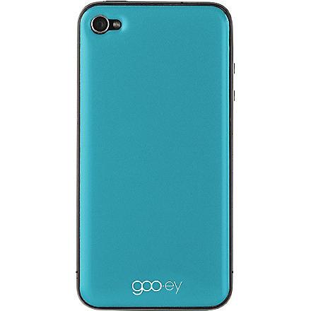 GOOEY iPhone 4/4s skin aqua