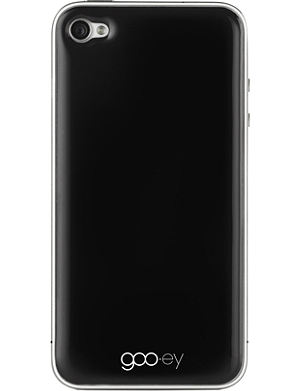 GOOEY iPhone 4/4s skin black