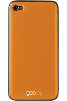 GOOEY iPhone 4/4s skin orange
